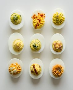 Deviled Eggs - Spoon Fork Bacon's The Perfect Egg
