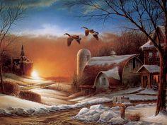 images of terry redlin paintings   Terry Redlin Art ~ Desktop Wallpapers