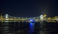 Premium Budapest River Cruise and fine dining on the Danube? Why settle for less when you can opt for the most popular Budapest Dinner Cruises? Cruises, Tower Bridge, River, Pizza, Patio, Cruise, Rivers