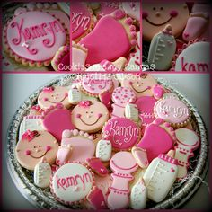 Baby Girl Shower Cookies *Ü*