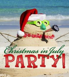 'Tis The Season: Christmas In July Party!