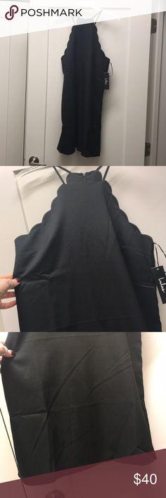 Lulus little black cocktail dress. Very flattering. Perfect little black dress! New with tags. Lulu's Dresses Midi