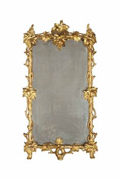 A giltwood mirror, Late 19th century/20th century