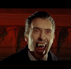 Dracula: Prince of Darkness (1966) with Christopher Lee.