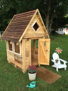 Reclaimed Wood Playhouse