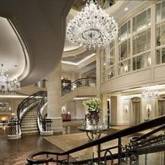 The St. Starwood Hotels and Resorts. Interior And Exterior, Interior Design, Luxury Interior, Luxury Homes Dream Houses, Luxury Life, Dream Homes, Beautiful Space, Lobbies, My Dream Home