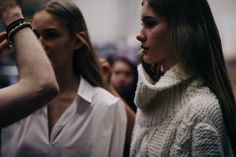 Le 21ème / Backstage at Holzweiler, Fall/Winter 2016/2017 | Oslo  // #Fashion, #FashionBlog, #FashionBlogger, #Ootd, #OutfitOfTheDay, #StreetStyle, #Style