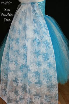Disney Frozen Snow Queen Elsa Tutu Costume by JustaLittleSassShop