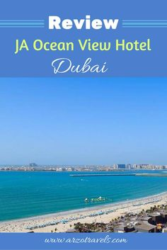 I had the chance to stay at JA Ocean View Hotel Dubai for one night when I visited Dubai in March this year and I am happy to write a review of this fun and stylish hotel.