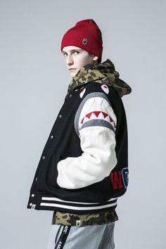 A Bathing Ape FW16.  menswear mnswr mens style mens fashion fashion style abathingape bape campaign lookbook