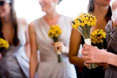 simple bouquets.