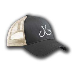 Hat -  Black/White Trucker