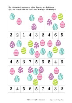 originals ff 30 April Preschool, Numbers Preschool, Preschool Math, Easter Worksheets, Preschool Worksheets, Preschool Activities, Easter Activities For Toddlers, Crafts For Kids, Easter Art