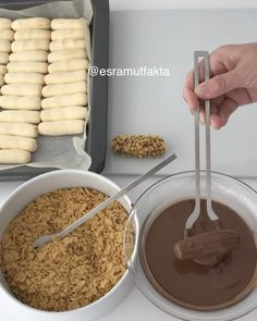 Log in – Holiday and camping ideas Cookie Recipes, Dessert Recipes, Desserts, Turkish Delight, Turkish Recipes, The Dish, Oatmeal, Food And Drink, Pudding
