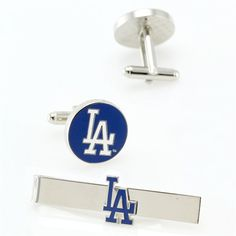 Dodgers cuff links