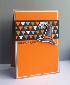 Beth's Little Card Blog: Halloween Wishes