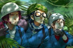 【刀剣乱舞】伝説の青い鳥を求めて南米へと飛んだ三名槍