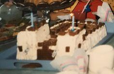 2 vuotiaan linnakakku 1988