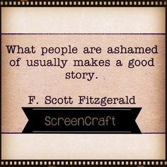 Quotable – F.Scott Fitzgerald - Writers Write
