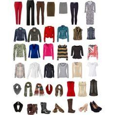 Capsule Wardrobe for Fall