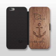 Anchor iphone 6 plus wallet, refuse to sink iphone wallet case