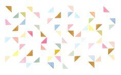 triangle desktop wallpaper, yao cheng design