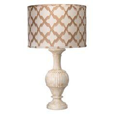 Jamie Young Lighting Lamp Shade Taupe Lattice Silk Drum Classic  @Sarah Nasafi Grayce