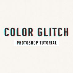 👇 Glitch Effect Photoshop, Cool Photoshop, Learn Photoshop, Photoshop For Photographers, Photoshop Photography, Photoshop Tutorial, Photography Tutorials, Photoshop Actions, Photography Tips