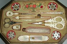 Fine Palais Royal sewing set c.1810