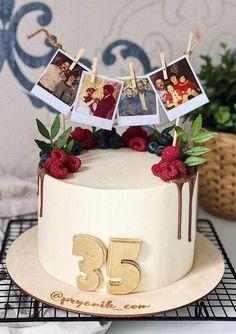 Beautiful Cake Designs, Beautiful Cakes, Amazing Cakes, Mini Cakes, Cupcake Cakes, Happy Anniversary Cakes, Chocolate Raspberry Cake, Cake Business, Birthday Cake Decorating