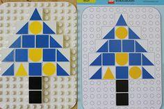 Lego skládání podle předlohy