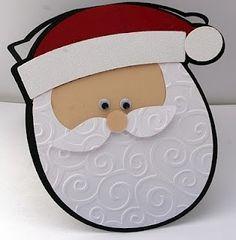 Cricut Doodlecharms Santa Card