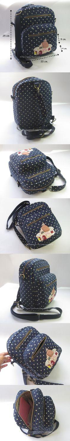 Handbag Tutorial, Diy Handbag, Patchwork Bags, Quilted Bag, Diy Bags Patterns, Japanese Bag, Backpack Pattern, Denim Bag, Simple Bags