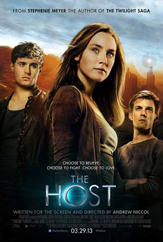 The Host- just finished this book- and it was great- I hope the movie will be true to the story.