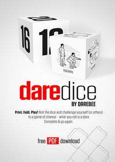 DAREdice by DAREBEE