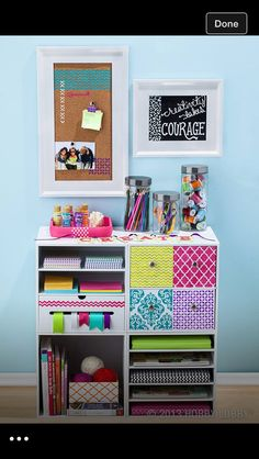 Ideas For Art Room Organization Ideas Drawers Craft Organization, Craft Storage, Organizing, Closet Organization, Storage Ideas, Storage Cubes, Organization Station, Office Storage, Storage Solutions
