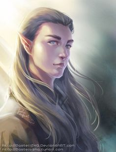 Young Thranduil _ In the Wind by pastellZHQ