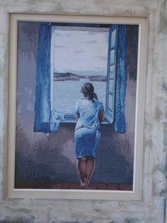 Mujer en la ventana *Salvador Dalí Hecho en 2007