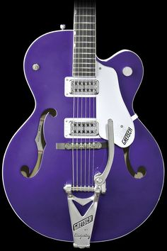 Gretsch G6120SHPTV Brian Setzer Hot Rod w/ Bigsby® Purple