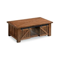 Barndoor Cocktail Table | American Home
