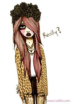 Really? By Valfre