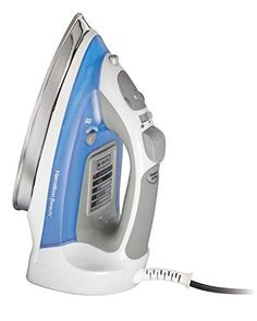 #homekitchen From everyday ironing to the unique requirements of quilters, sewers, and crafters, #Hamilton #Beach irons are indispensable. Whether you're ironing ...
