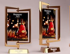 My projects in 2014 - 2015 Pos Display, Display Design, Display Ideas, Hennessy Xo, Display Property, Point Of Purchase, Pop Design, Candle Sconces, Diy Art