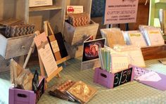 card and print market stall - Google Search