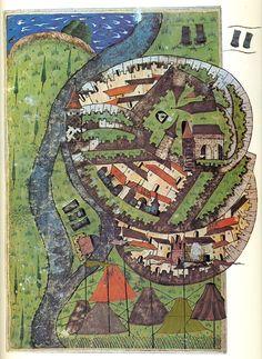 Matrakçı Nasuh-Esztergom in 1543