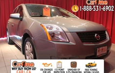 Pre-owned 2008 Nissan Sentra 2.0 SL CVT @ CarOne Kingston.         Unheard of used vehicle financing starting at 0.9% & oil changes for life on select models! Free CarProof reports on all vehicles along with our standard 100 point inspection & certified on site 155 point inspections.        This Nissan Sentra 2.0 SL CVT has BlueTooth, Leather, Sunroof & more. Check it out at 1010 Centennial Drive  Kingston, Ontario or http://www.car1.ca…