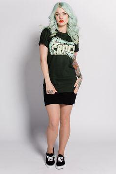 Image of Crocs Tee Green