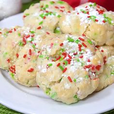 Try these quick and easy cake cookie recipes for any occasion Gooey Butter Christmas Cookies Easy Holiday Cookies, Xmas Cookies, Cake Mix Cookies, Christmas Baking Ideas Cookies, Crack Cookies Recipe, Cake Mix Bars, Butter Cookies Christmas, Snowball Cookies, Cupcakes