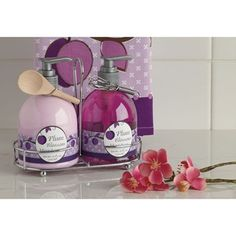DII Kitchen Soap and Lotion Caddy Set