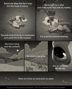 Gorgeous poem adapted into a comic by artist Adam Ellis Comics Story, A Comics, 4 Panel Life, He Is Alive, Mini Comic, Farm Boys, Cute Stories, Faith In Humanity, Funny Cute